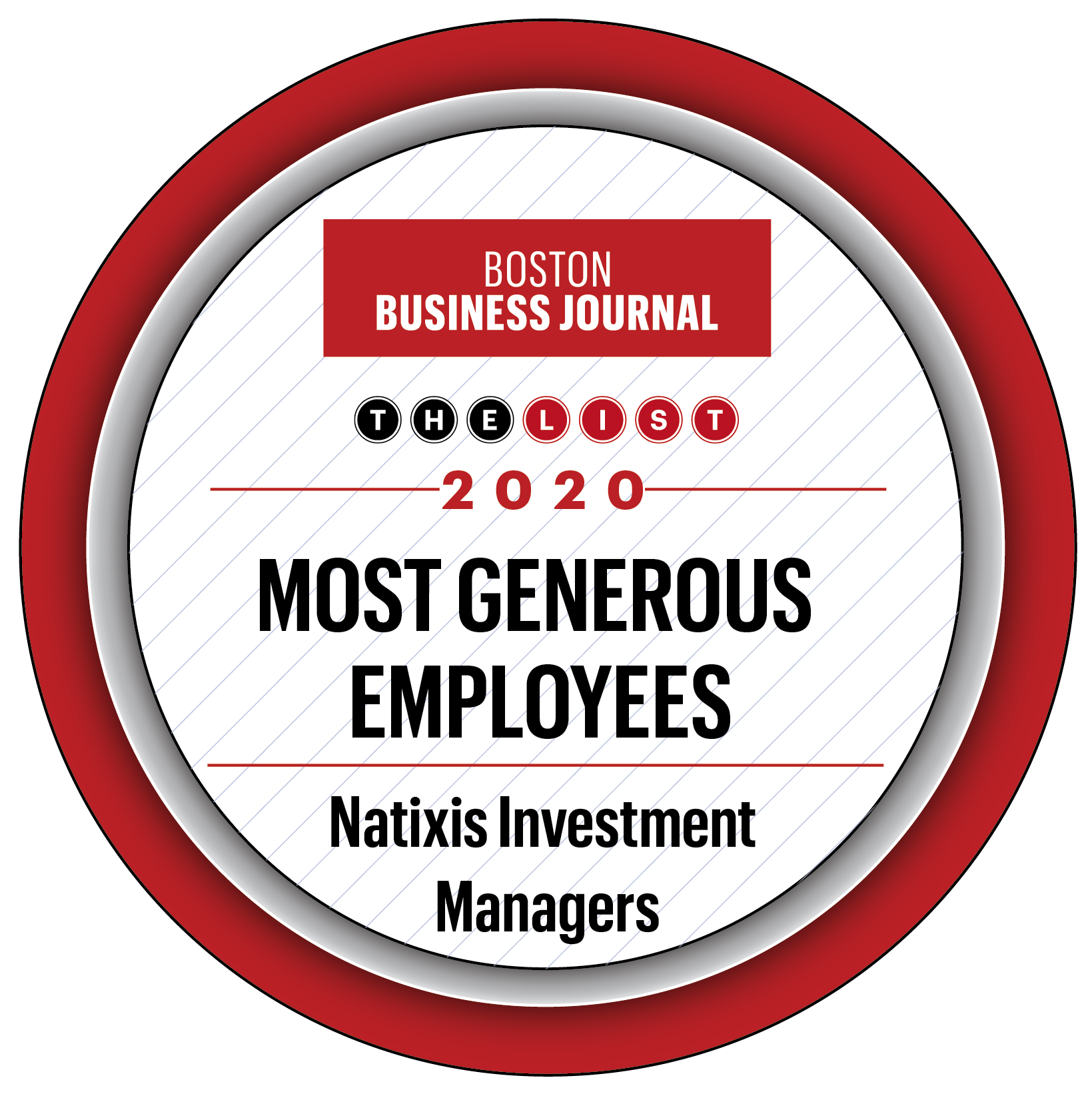 BBJ Most Generous Employees 2020